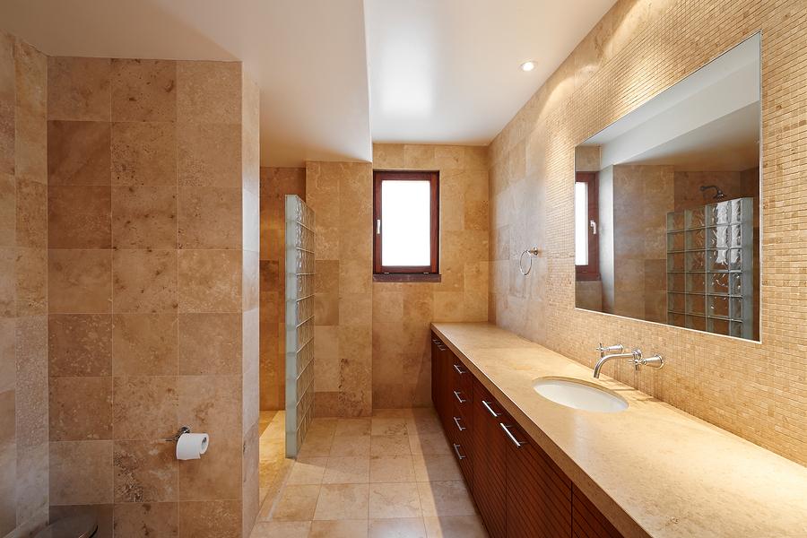 Interior design: Beautiful luxury bathroom